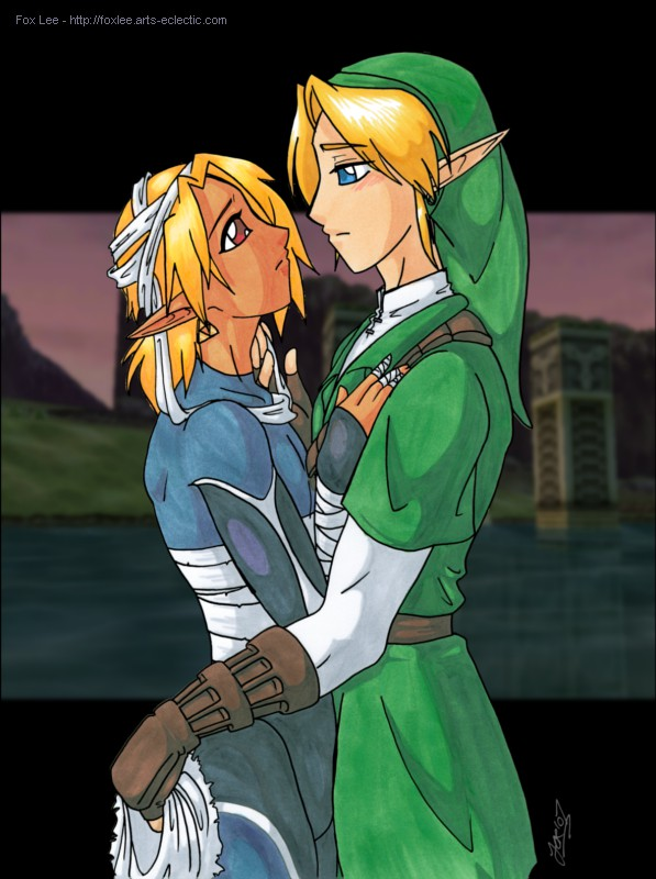 link and sheik wallpaper - photo #33