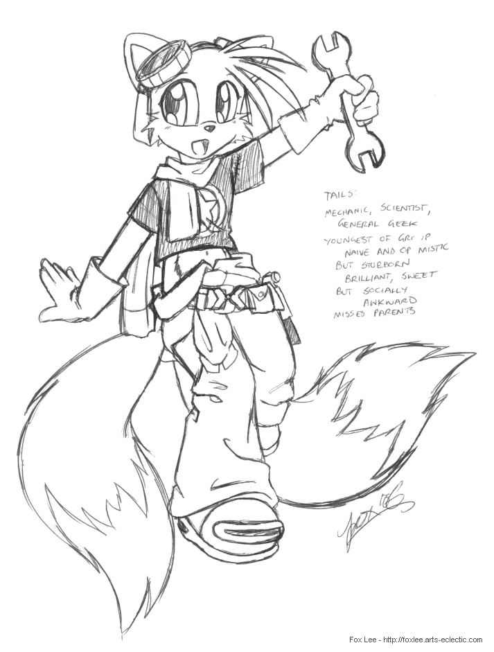 Clichés de Tails  - Page 24 Ultimate_sonic___tails_by_foxlee-dovhn7