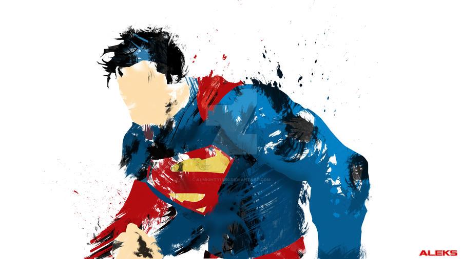 Superman Splatter by ALmighty1080