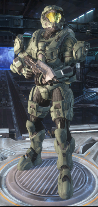 as close as it gets to Master Chief in Halo Online by aruon
