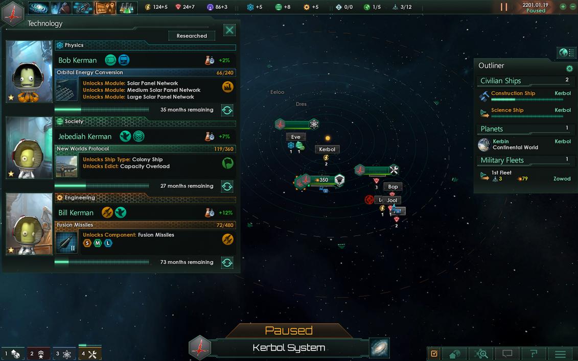 Kerbal Space Program 2- KERBALS IN SPACE!!! by aruon