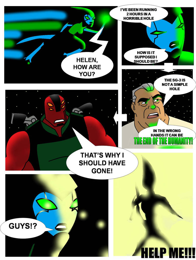 Ben 10 Cold Justice #1: Smart Control pg1 by