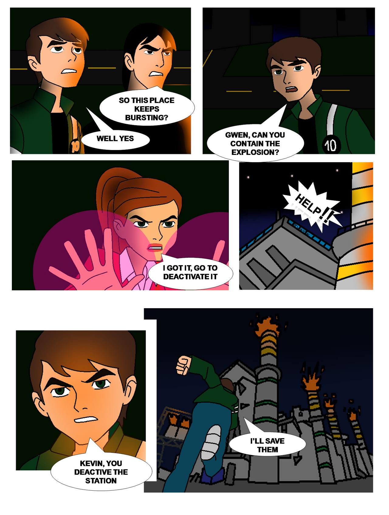 Ben 10 Cold Justice #1: Smart Control page 14 by Ben10Coldjustice on ...