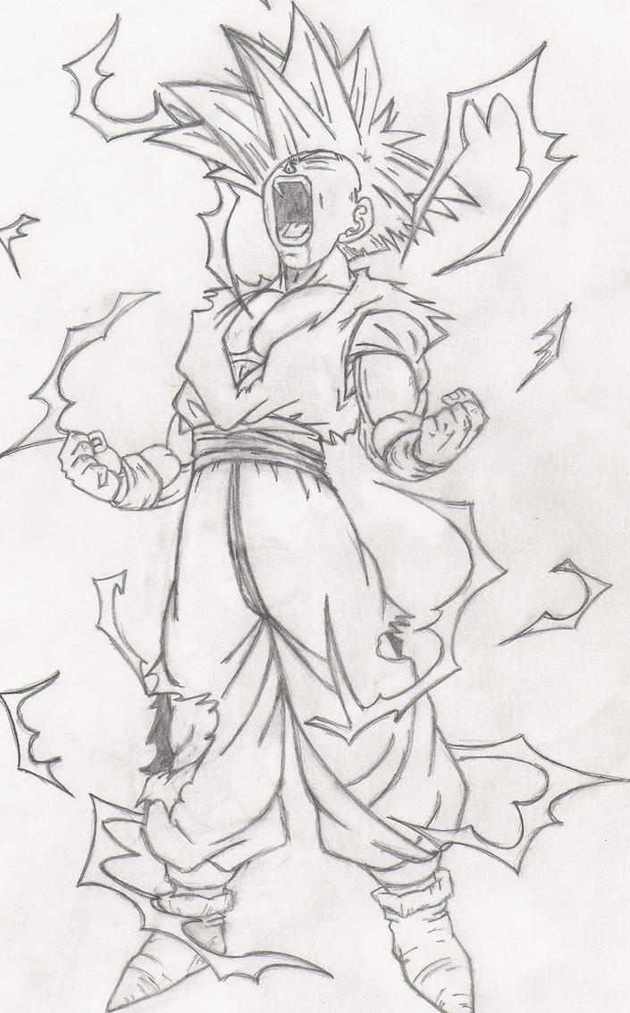 amazing gohan ssj2 coloring pages image collection wordpress