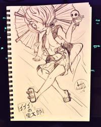 Gegege no Kitarou, Nude torso version