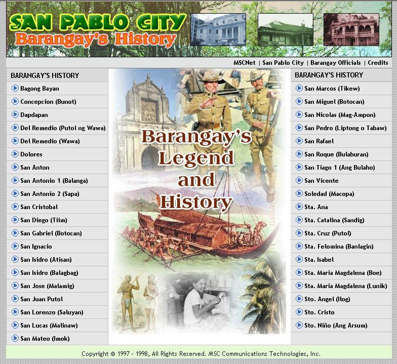 Barangay's History Page by ~chelmi on deviantART