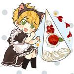 Cheese Cake Maid?! How Kawaii