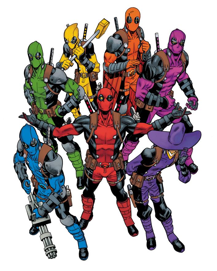 Deadpool gang by commandervargus