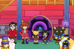 Six Kids in a Spaceship Fanart