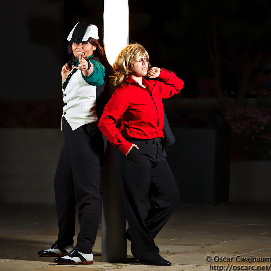 Tiger and Bunny by OscarC-Photography