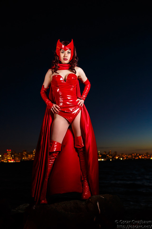 Scarlet Witch: Nightfall by ocwajbaum