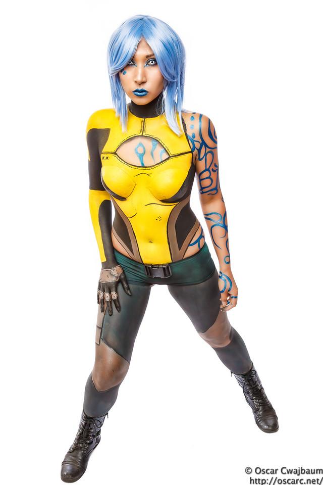 Body Paint Maya 1 by ocwajbaum