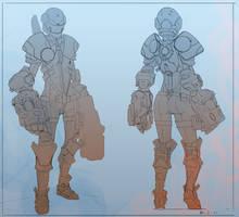 Sanctum Character 02 by Colorbind