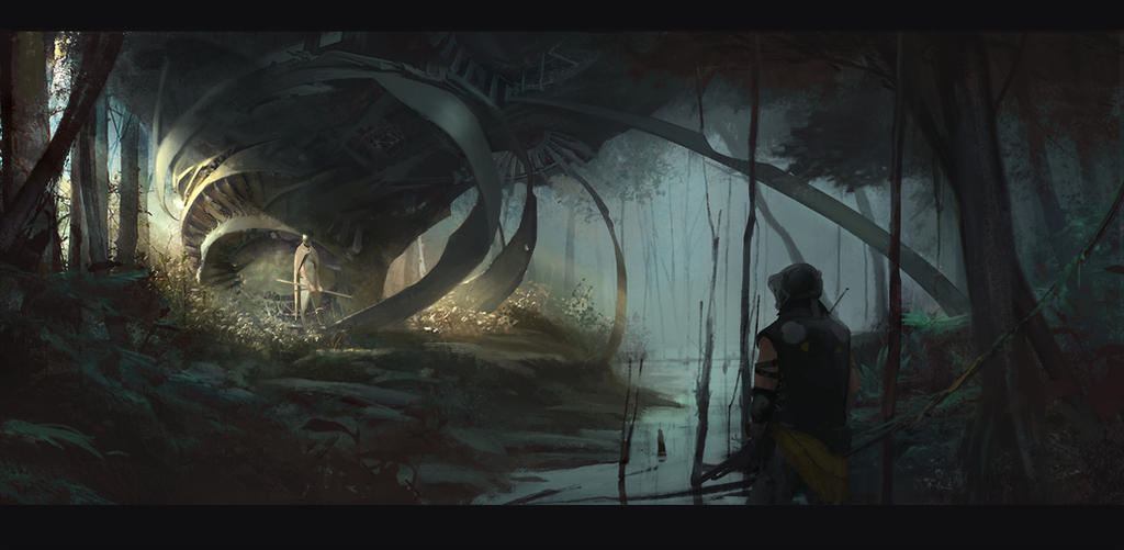 SwampGuardian by Colorbind