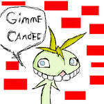 Ren-Goblin likes candee by grinningsorrow