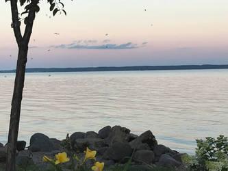 Lake Winnebago, Wisconsin by Cratoriax
