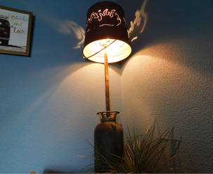 Fire Extinguisher Lamp 02 by Cratoriax