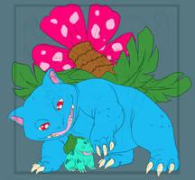 Venusaur And Bulbasaur