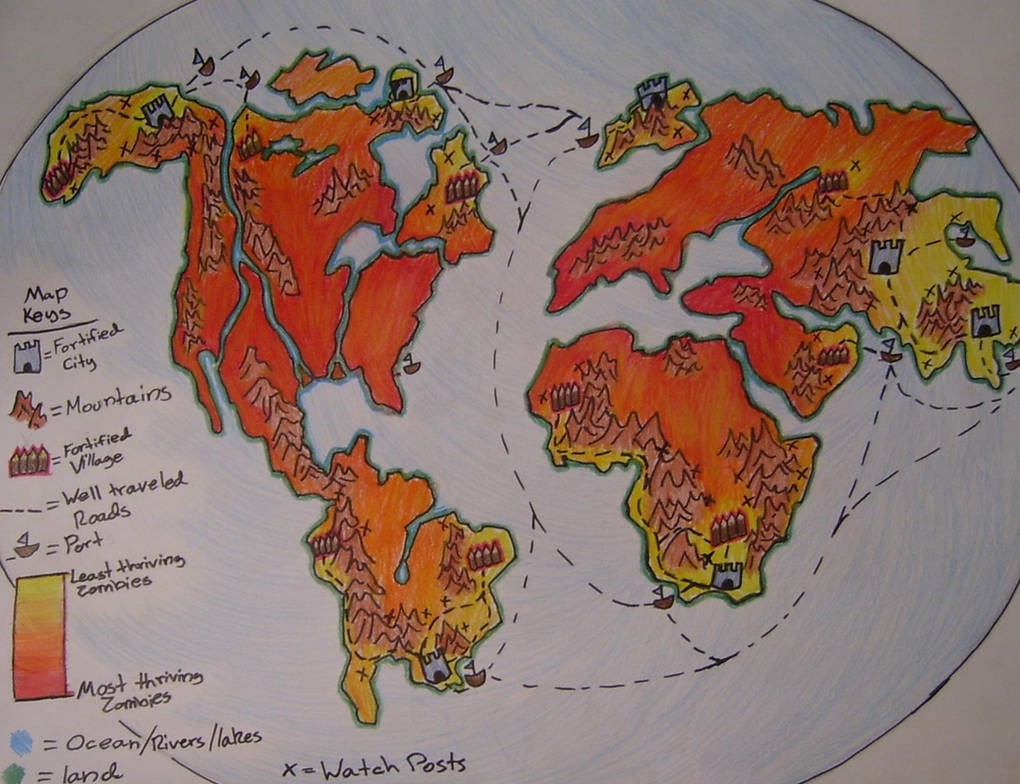 Zombie World Map by Child-of-God on DeviantArt on apocalypse world map, leviathan world map, world war z map, candy crush saga world map, post-apocalyptic world map, sci-fi world map, death world map, alien world map, minecraft survival world map, witchy world map, resident evil world map, red wolf world map, manhattan world map, spooky world map, scary world map, the last stand map, walking dead world map, gundam 00 world map, mine craft world map,