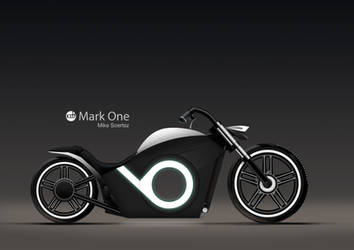 Mark One Electric Chopper/Bobber Design by mrwrong20