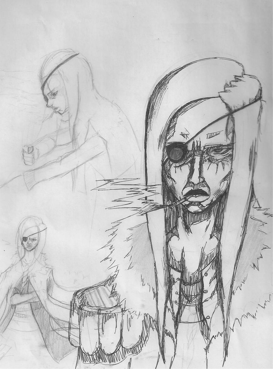 Lt. Colonel Sniles Sketch Design by Its-Artorias
