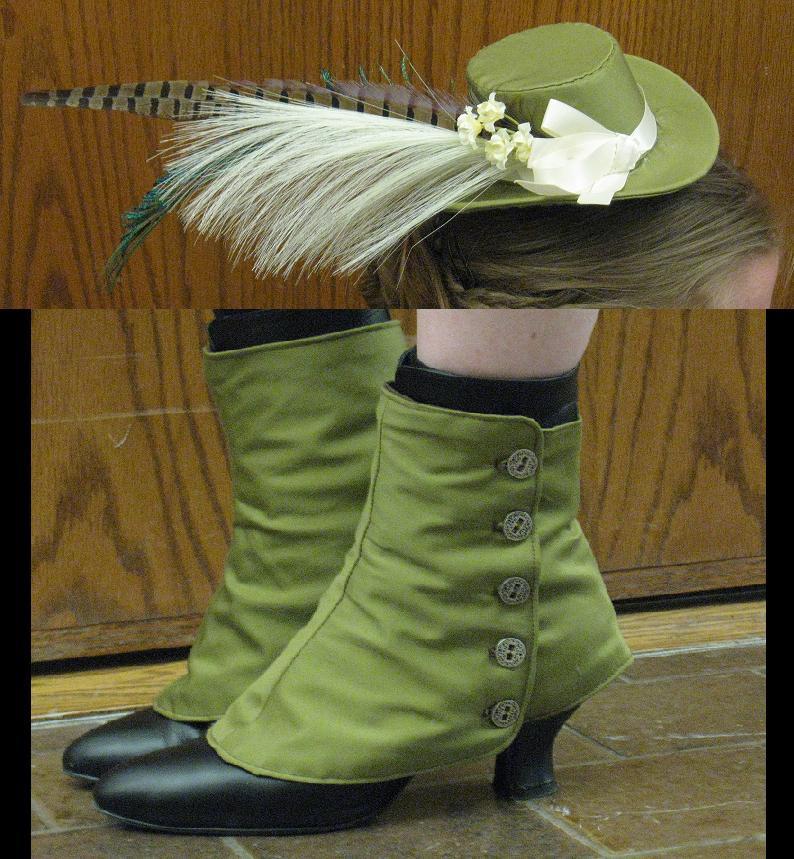 Hat and spats by Animus-Panthera