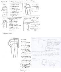 Persona 4 jacket pattern by Animus-Panthera