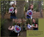 Zelda- Hylian shield backpack