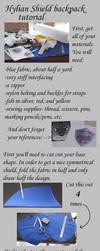 Zelda shield backpack tutorial by Animus-Panthera