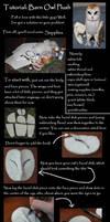 Barn Owl Plush Tutorial Part 1