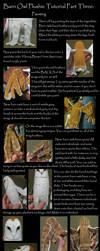 Barn Owl Plush Tutorial Part 3 by Animus-Panthera