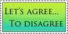 Agree to disagree by Animus-Panthera
