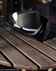 Custom order wedding hat by Animus-Panthera