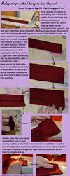 Tutorial: belts or straps without turning out by Animus-Panthera