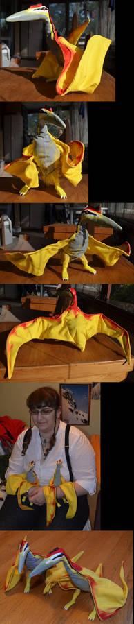 Dinotopia- Skybax dolls