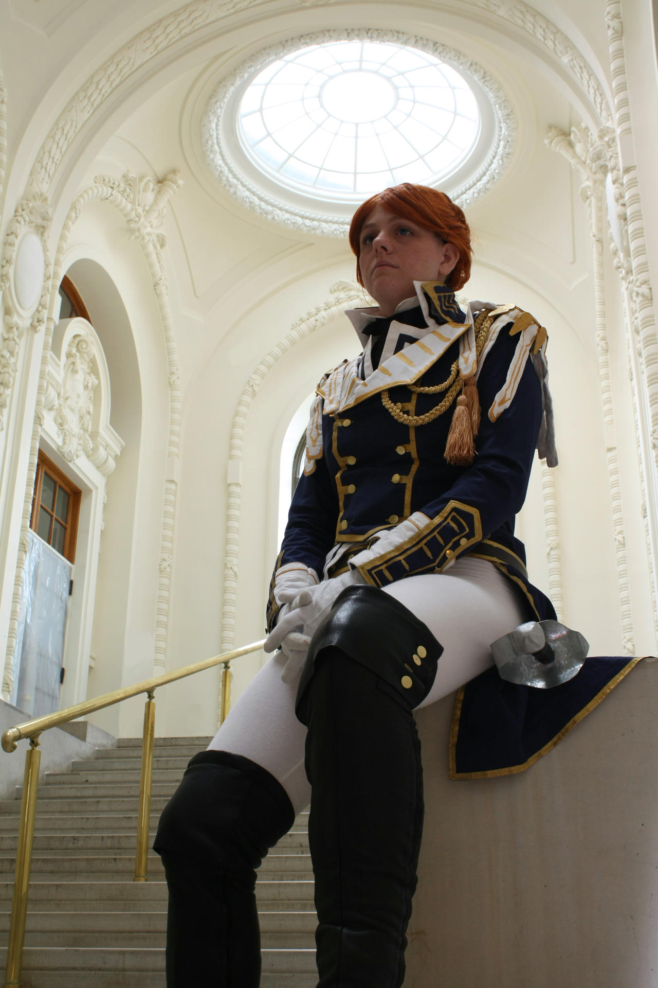 Trinity Blood- a moment of rest by Animus-Panthera