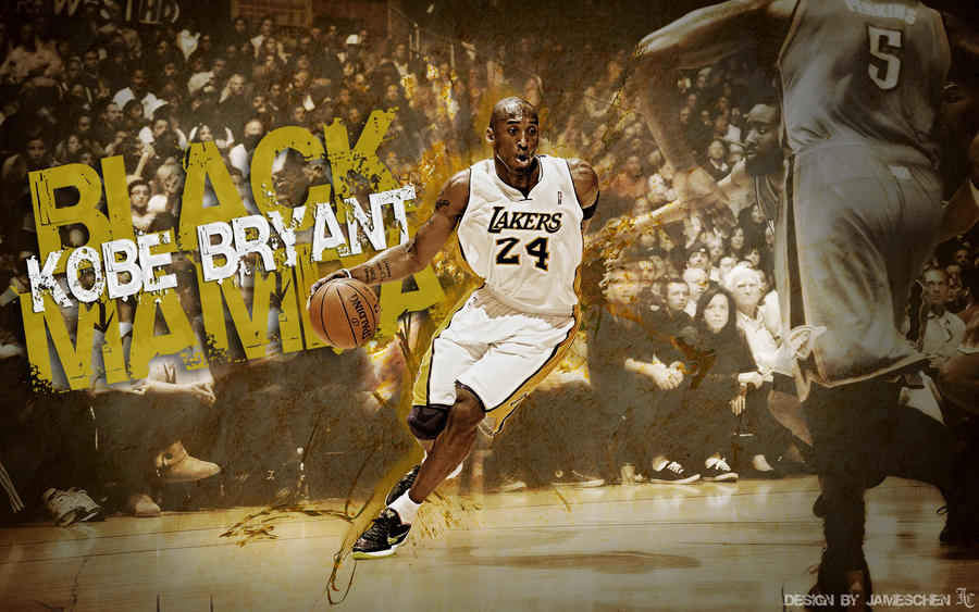 Black Mamba Kobe Bryant Wallpaper By JamesChen