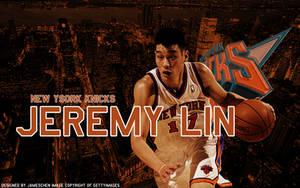 Jeremy Lin Wallpaper C by JamesChen