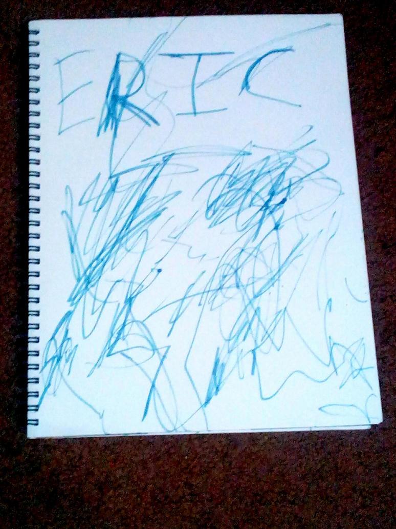 Eric's Scribble Scrabbles by Ellecia