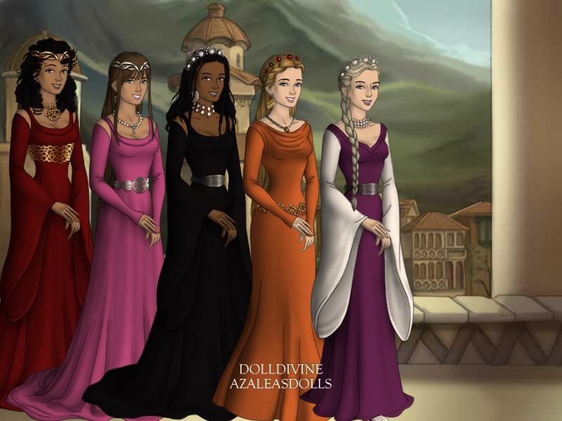 Thrax's Royal Wives by Ellecia