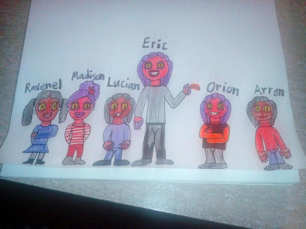 Thrax and Ellecia's Kids by Ellecia