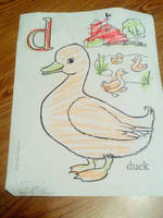 D is for Duck by Eric by Ellecia