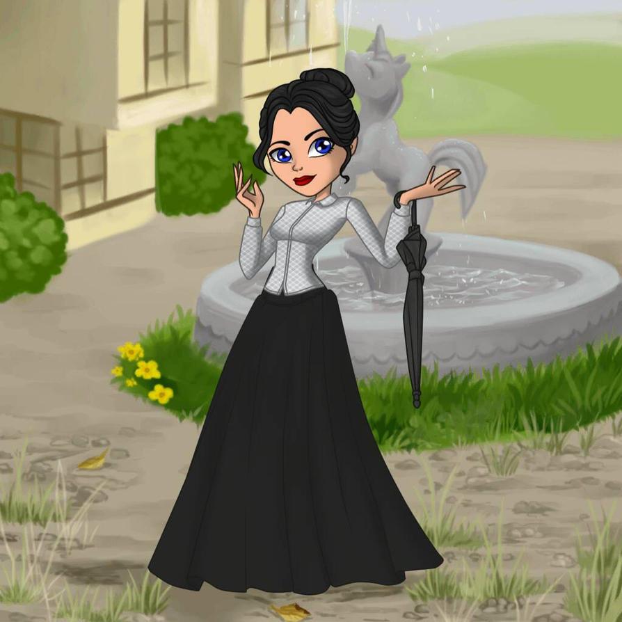Mary Poppins by Ellecia