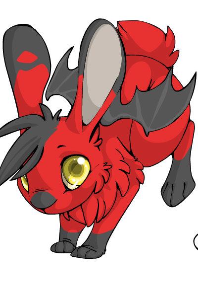 Devilgirl Bunny by Ellecia
