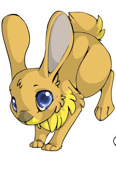 Aurora Bunny by Ellecia