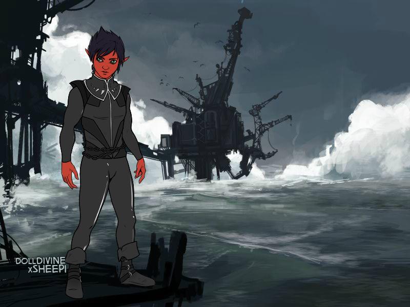 Azazel At Sea by Ellecia