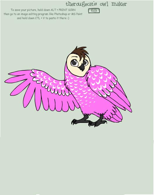 Makayla Owl by Ellecia