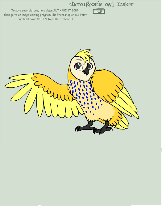 Aurora Owl by Ellecia