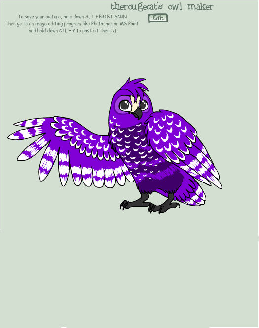 Light Owl by Ellecia