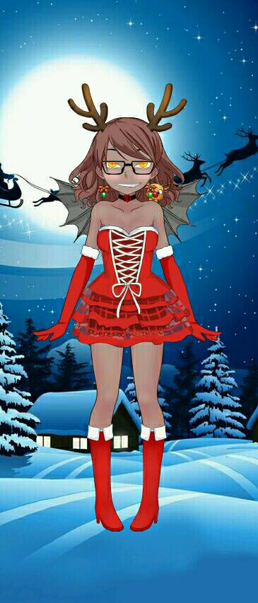 Merry Christmas from Devilgirl by Ellecia